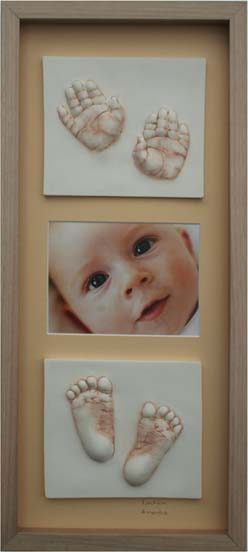 baby hands and feet impressions