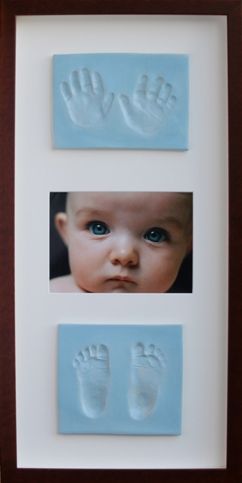 baby hands and feet imprints